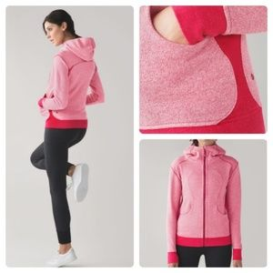Lululemon On the Daily Hoodie Scuba Terry Jacket